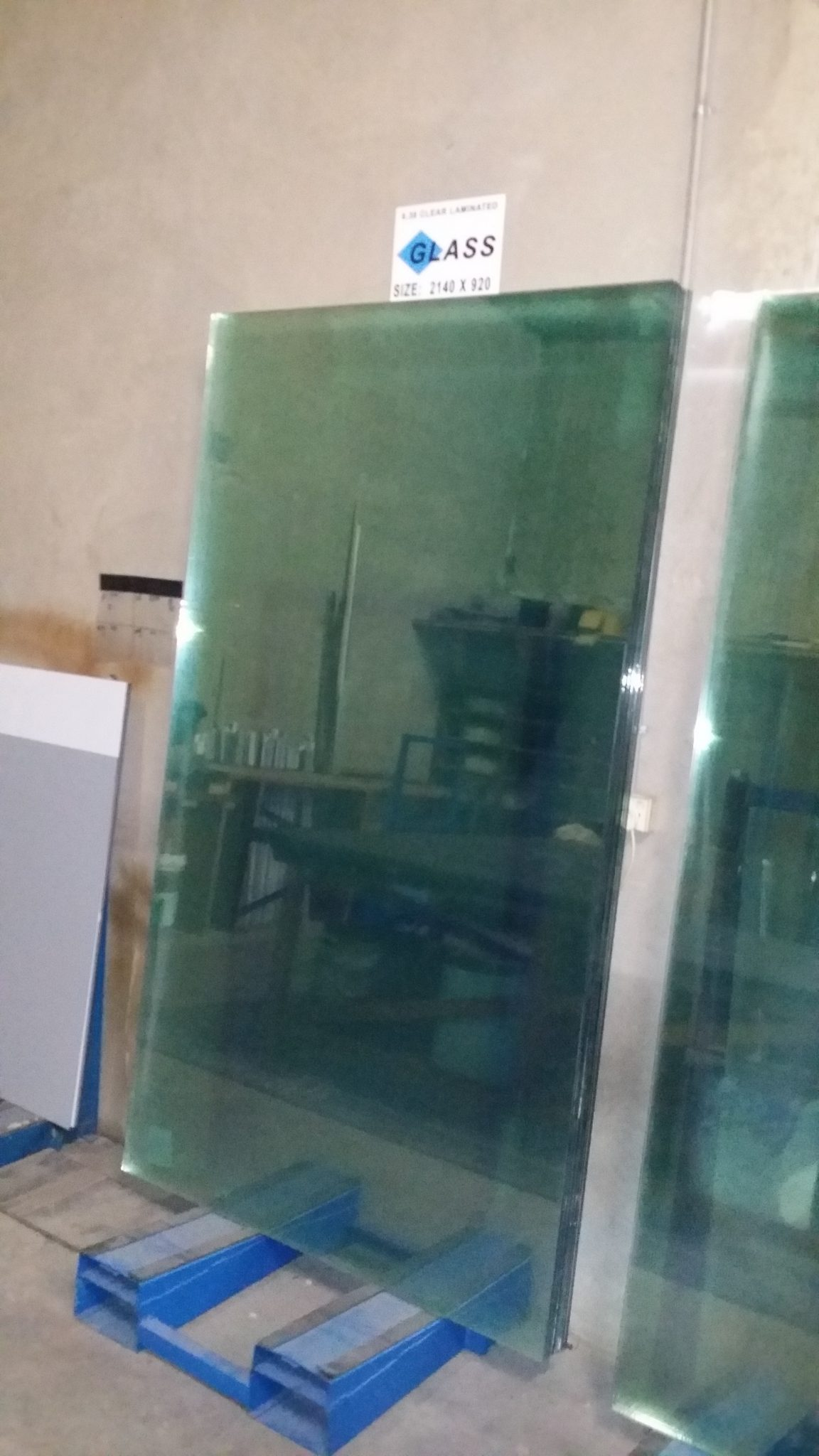 Laminated glass sheets