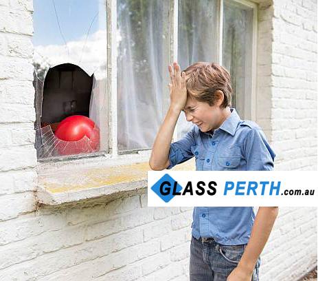 Broken window needing glass repairs