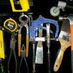 Glaziers Tools